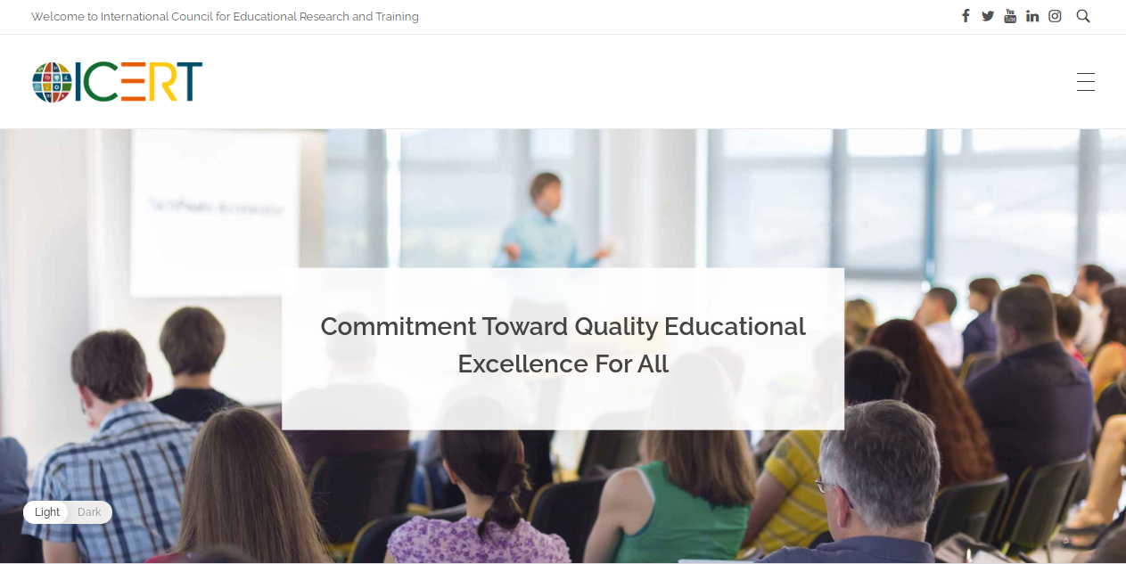 ICERT | International Council For Educational Research & Training
